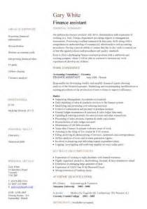 Wealth Management Assistant Resume by Financial Cv Template Business Administration Cv Templates Accountant Financial