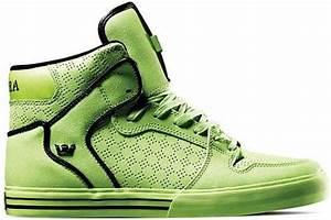 Supra Vaider Neon Green TUF Release