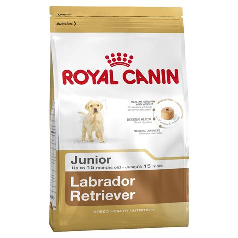 royal canin dry dog food  labrador junior