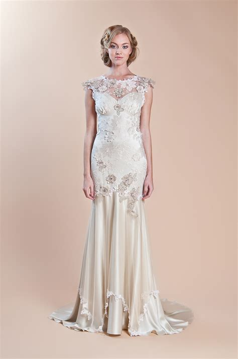 2013 Wedding Dress Claire Pettibone Windsor Rose