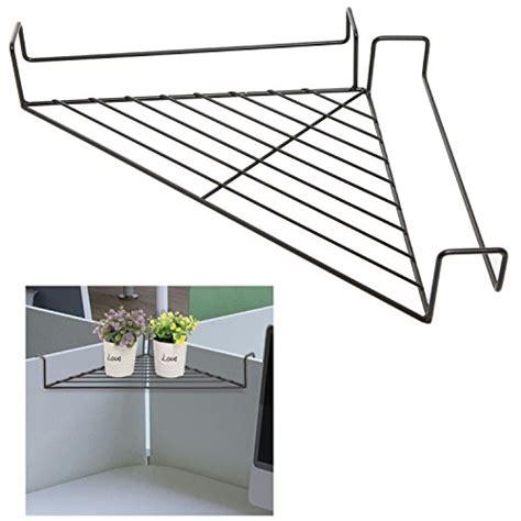 free standing kitchen pantry furniture black wire corner shelf 44 mygift metal hanging