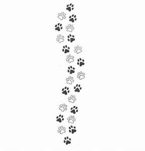 Paw clipart muddy paw - Pencil and in color paw clipart ...