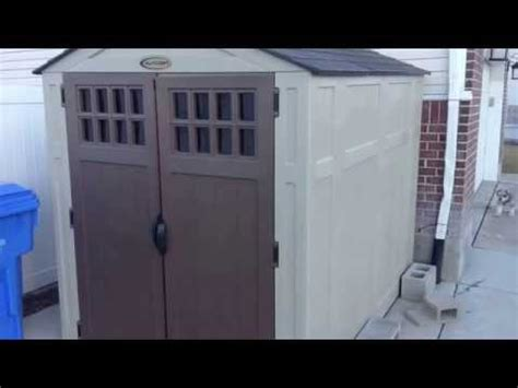 Suncast 7x7 Shed Manual by Suncast Shed Assembly Demo Doovi