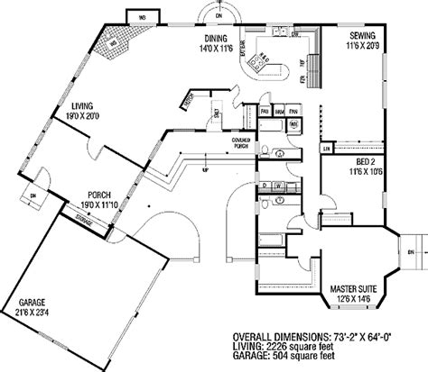 plan ld  shaped home plan home ideas house plans
