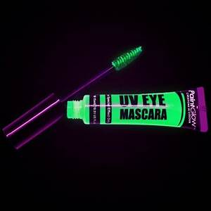 UV reactive Neon Mascara