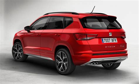 seat ateca 2017 seat ateca fr is all show and no extra go