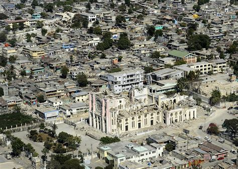Image result for a picture of the capital of haiti