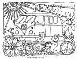 Van Volkswagen Coloring Vw Adult Drawing Printable Whimsical Getdrawings sketch template
