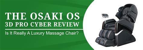 the osaki os 3d pro cyber chair review is this a