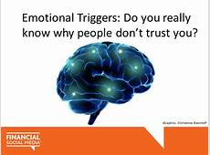 Emotional Triggers Do You Really Know Why People Don't