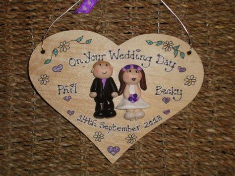 wedding day anniversary personalised  heart