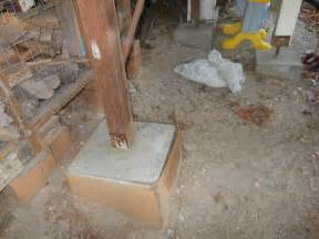 concrete deck footings without forms doherty house building code concrete deck footings