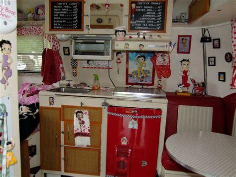 Betty Boop Boler Kitchen. Toaster Oven Mounted Under