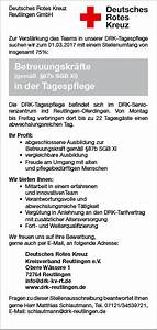 87b Sgb Xi Abrechnung : deutsches rotes kreuz kreisverband reutlingen e v freie stellen im bereich soziales ~ Themetempest.com Abrechnung