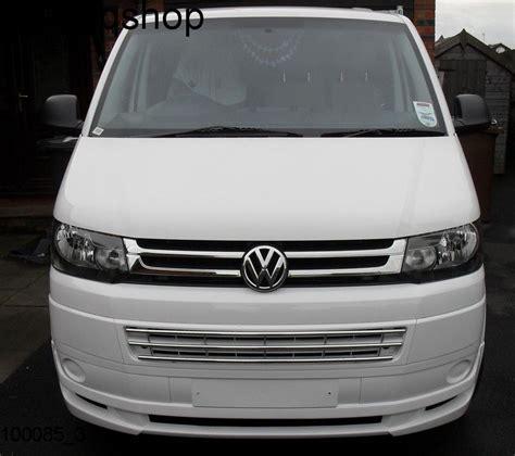 vw t5 transporter front splitter bumper lip spoiler ab t facelift in stock ebay