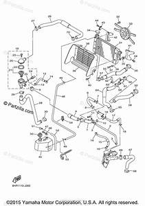 Yamaha Snowmobile 2012 Oem Parts Diagram For Radiator Hose