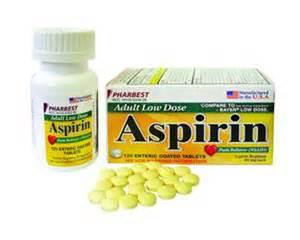 Low Dose Aspirin 81 Mg Ec Tablets