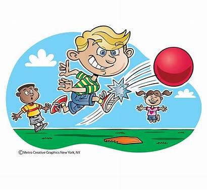 Clipart Kickball Playing Transparent Webstockreview