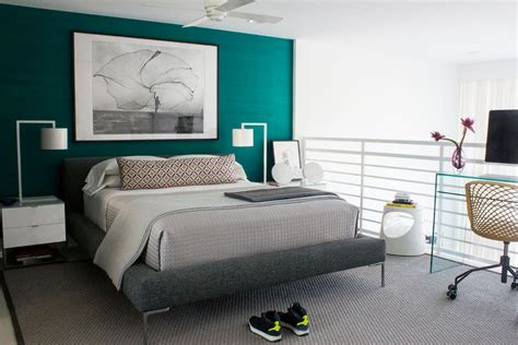 valspar paint colors for a contemporary bedroom with a
