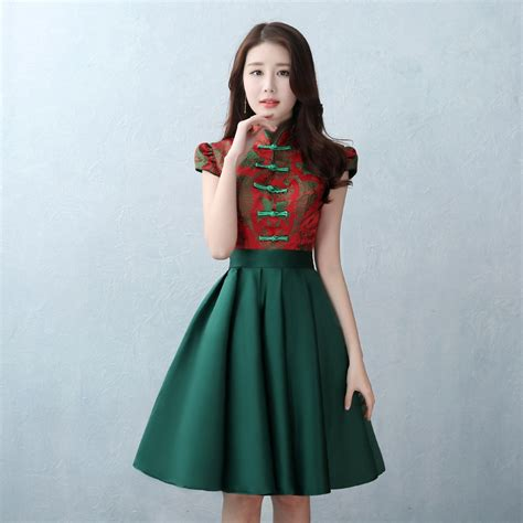 bridesmaid dress  national chinese oriental dresses