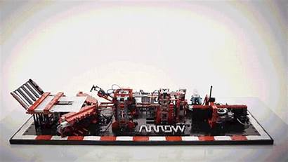 Lego Paper Machine Airplane Factory Wonderfully Airplanes