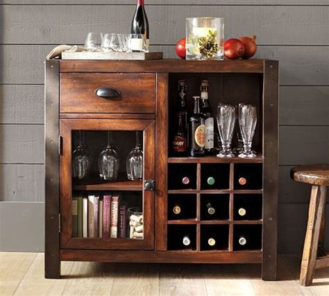 pottery barn wine cabinet dry bar that i want apartment decorating ideas pinterest