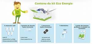 Comble Eco Energie : kit eco energie auchan gratuit coffret de 10 produits ~ Melissatoandfro.com Idées de Décoration