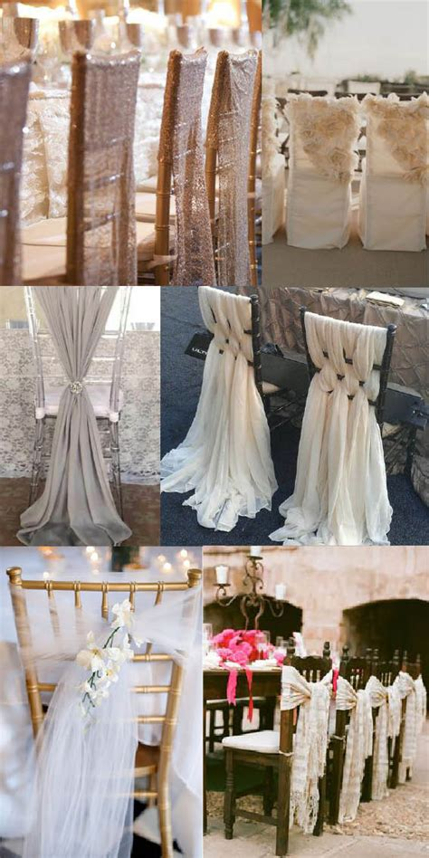 pretty alternatives to wedding chair covers weddingdates