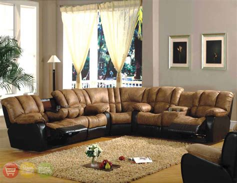 Contemporary Microfiber Sectional Sofa by Furniture