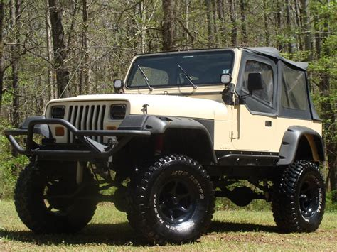 jeep wrangler custom 1989 jeep wrangler custom 4x4 184946