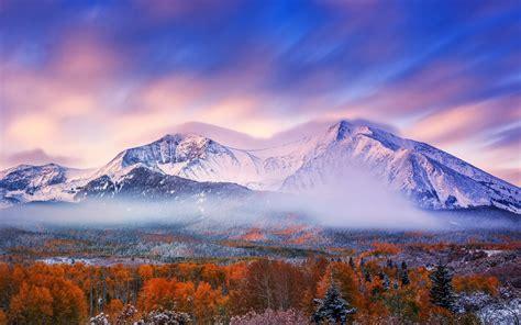 วอลเปเปอร์ : แนวนอน, ธรรมชาติ, ท้องฟ้า, หิมะ, ฤดูหนาว, พระ ...
