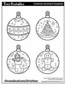 printable paper christmas ornament templates With christmas tree decorations printable