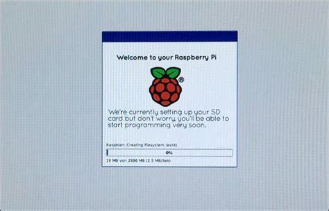 raspberry pi sd karte fuer noobs raspbian vorbereiten