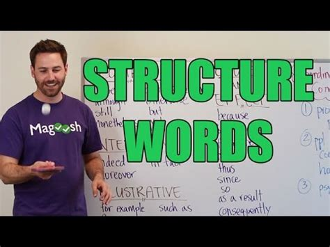 Gmat Tuesday Active Reading Comprehension  Structure Words Youtube