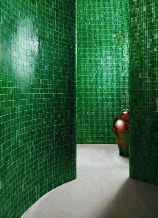 emerald tile adds polish   amazing walk
