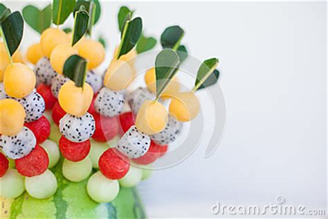 fruit canapes fruit canapes stock photo image 48372680
