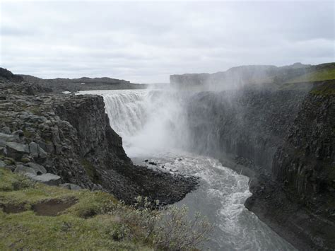 Dettifoss Large Waterfall - World for Travel