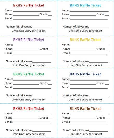 microsoft raffle ticket template search results for free raffle ticket template for word