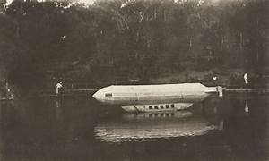 1 A River Craft Decorated To Look Like A Zeppelin During