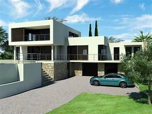 photo de maison de ville contemporaine toit plat With good photo maison toit plat 6 maison de star contemporaine toit plat