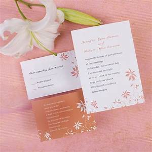 custom simple peach rustic country inexpensive wedding With inexpensive personalized wedding invitations