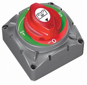 Bep Marine Heavy Duty Selector Switch - Bep Marine 721 - Battery Switches