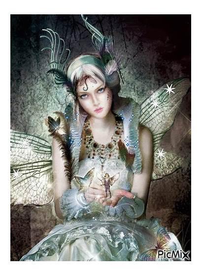 Fairy Fairies Gifs Photobucket Hadas Fantasy Angellovernumberone