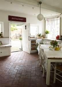 Country Kitchen Brick Floors