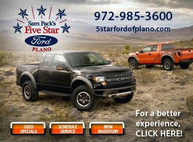 Five Star Ford Plano Employees