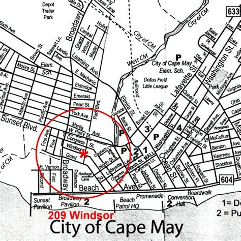 cape may downtown map pictures to pin on pinsdaddy