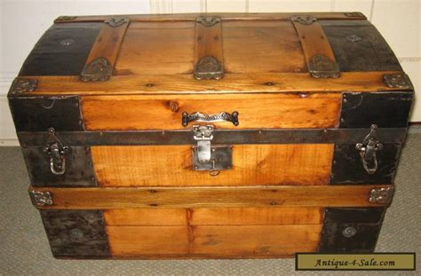 Antique Steamer Trunk Vintage Victorian Rustic Wooden Flat Top Chest C1890 For Sale In United States Antique Princess Style Ring American Flag Bunting Meaning In Marathi Croton Diamond Watches Setting Without Stones Table Restaurant Menu 48 Bathroom Vanity White Ronson Lighters