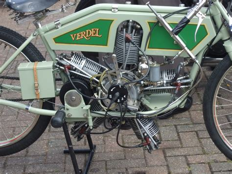 The Verdal 5 Cylinder Radial Bikes, A