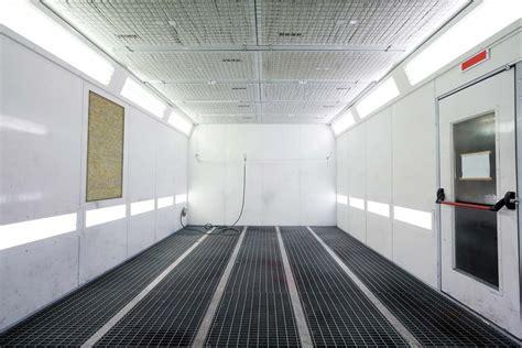 cabina per verniciatura cabine e forni di verniciatura di pannelli isolanti
