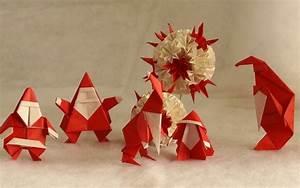 Deco Noel En Papier : d coration de no l en papier origami ou kirigami ~ Melissatoandfro.com Idées de Décoration